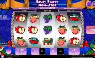 Fruit Party Non-Stop HTML5 Mobile and PC