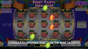 Fruit Party Non-Stop HTML5 Mobile and PC Preview Pic Jackpot Screen 21
