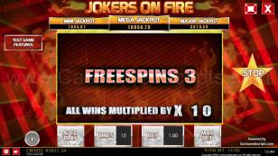 Jokers on Fire HTML5 Mobile and PC Preview Pic 12