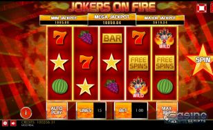 Jokers on Fire HTML5 Mobile and PC