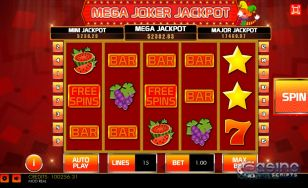 Mega Joker Jackpot HTML5 Mobile and PC