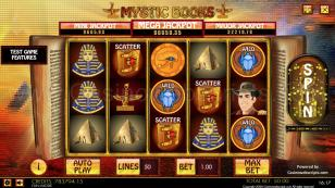 Mystic Books HTML5 Mobile and PC Preview Pic Main Screen 1