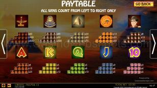 Mystic Books HTML5 Mobile and PC Preview Pic Symbols Paytable 2
