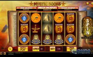 Mystic Books HTML5 Slot