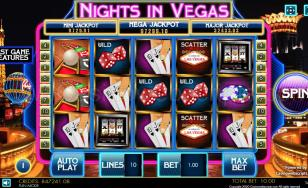 Nights in Vegas HTML5 Mobile and PC