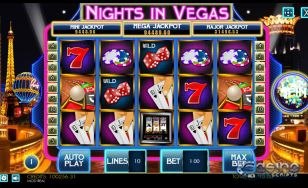 Nights in Vegas HTML5 Slot