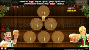 Oktoberfest Beer Bash HTML5 Mobile and PC Preview Pic Jackpot Screen 17