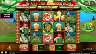 Oktoberfest Beer Bash HTML5 Mobile and PC Preview Pic Main Screen 1