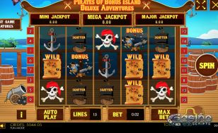 Pirates of Bonus Island Deluxe Adventures