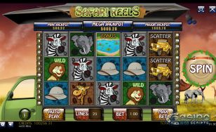 Safari Reels HTML5 Slot