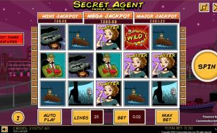 Secret Agent Triple Jackpot HTML5 Mobile and PC