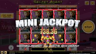 Secret Agent HTML5 Slot Preview Pic  21