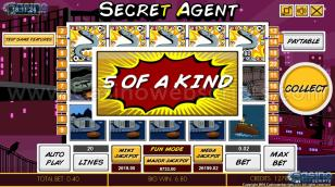 Secret Agent HTML5 Slot Preview Pic  23