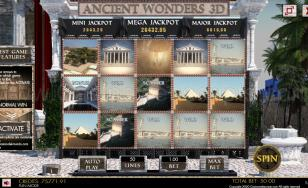 Ancient Wonders Slot 3D Mobile and PC