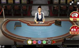 BlackJack 21 FaceUp 3D Dealer HTML5 Mobile and PC
