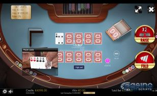 Caribbean Poker HTML5 Mobile and PC