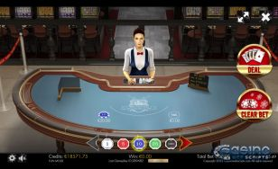 Casino War 3D Dealer HTML5 Mobile and PC