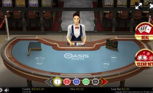 Oasis Poker 3D Dealer HTML5 Mobile and PC