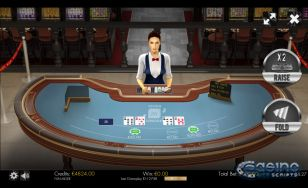 Over or Under 26 Joker 4Card 3D Dealer HTML5 Mobile and PC