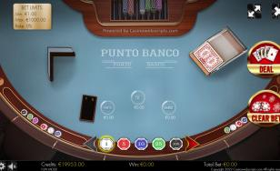 Punto Banco HTML5 Mobile and PC
