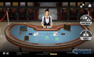 Punto Banco 3D Dealer HTML5 Mobile and PC