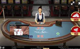 Texas Holdem Heads-Up 3D Dealer HTML5 Mobile and PC