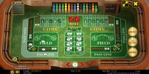 Craps Classic HTML5 Preview Pic Main Screen 1