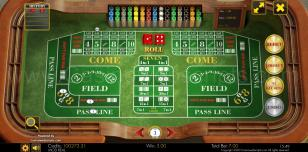 Craps Classic HTML5 Preview Pic 3