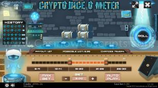 Crypto Diceometer Mobile and PC Preview Pic Main Screen 1