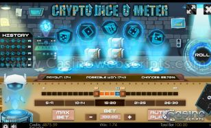 Crypto Diceometer Mobile and PC