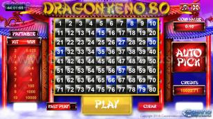 Dragon Keno 80 HTML5 Mobile and PC Preview Pic 2