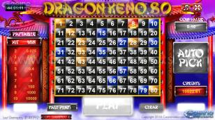 Dragon Keno 80 HTML5 Mobile and PC Preview Pic 3