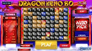 Dragon Keno 80 HTML5 Mobile and PC Preview Pic 4