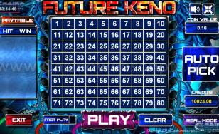 Future Keno 80 HTML5 Mobile and PC