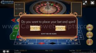 American Roulette 3D Advanced - Mobile and PC Preview Pic 3
