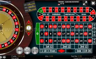 European Roulette 2D Advanced - HTML5 Mobile and PC