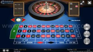 European Roulette 3D Preview Pic Main Screen 1