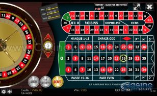 French Roulette 2D Advanced - Mobile and PC