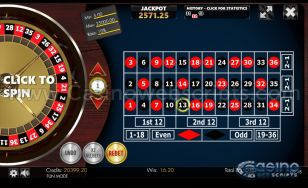 Jackpot Roulette No-Zero 2D Advanced - Mobile and PC