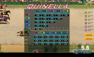 Horse Race Quinella - Lucky Derby Mobile and PC