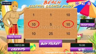 Beach Cocktail Scratch HTML5 Mobile and PC Preview Pic 3