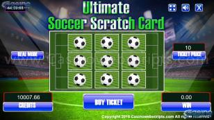Ultimate Soccer Scra Preview Pic Main Screen 1