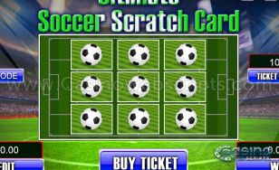 Ultimate Soccer Scratch HTML5 Mobile and PC