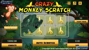 Crazy Monkey Scratch HTML5 Mobile and PC Preview Pic 2