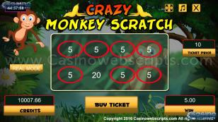 Crazy Monkey Scratch HTML5 Mobile and PC Preview Pic 3