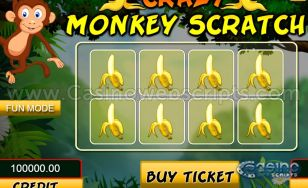 Crazy Monkey Scratch HTML5 Mobile and PC