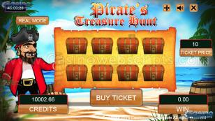 Pirate's Treasure Hunt HTML5 Mobile and PC Preview Pic Main Screen 1