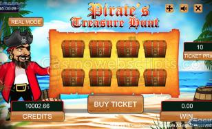 Pirate's Treasure Hunt Scratch HTML5 Mobile and PC