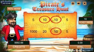 Pirate's Treasure Hunt HTML5 Mobile and PC Preview Pic 3