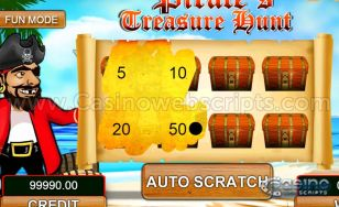 Pirate's Treasure Hunt HTML5 Mobile